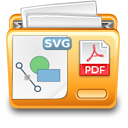 Svg to pdf conversion